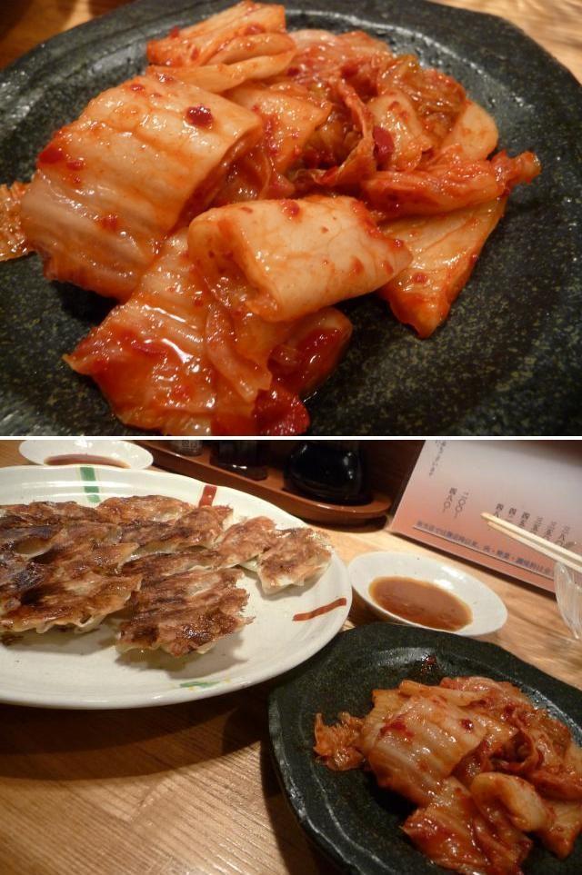 大阪手工餃子  天華-泡菜