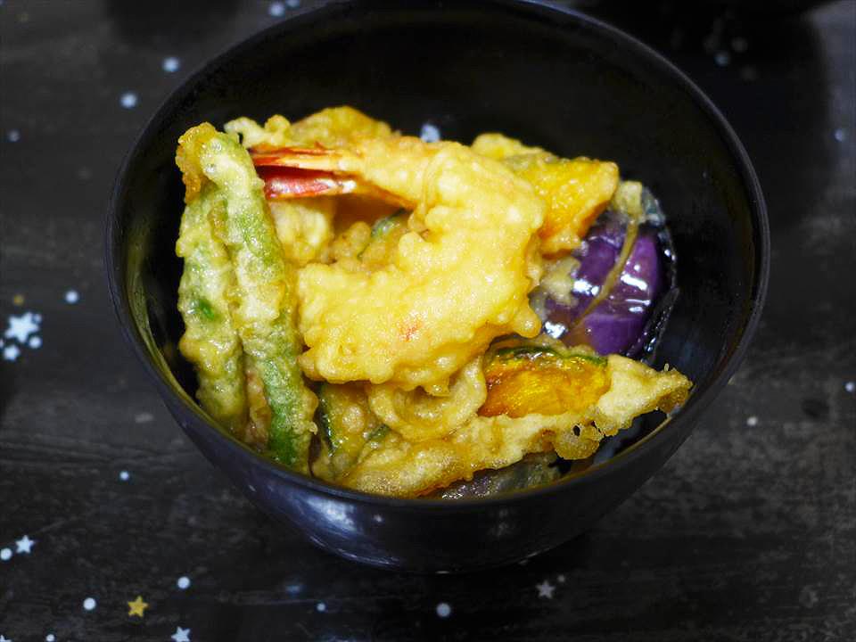 大阪讚岐烏龍麵讚岐一番-天婦羅丼
