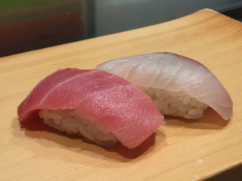 蔥鮪魚肚卷