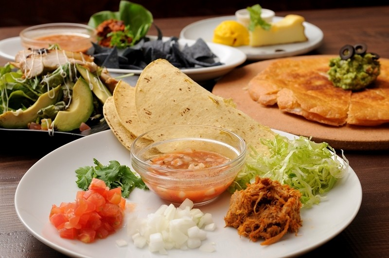 「Mexican Dinner Course」(全6道)※照片僅供參考