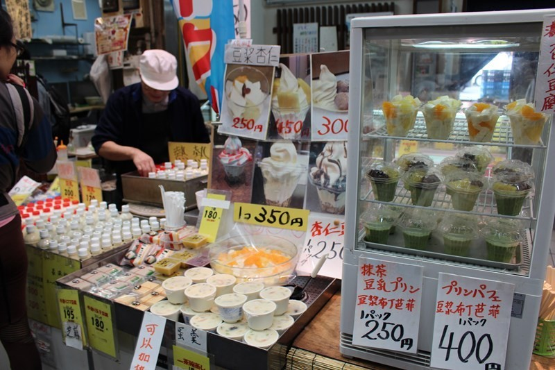 1個70日圓!對身體跟錢包都很好的豆漿甜甜圈!黑門市場『黒門 ふる里の香り』