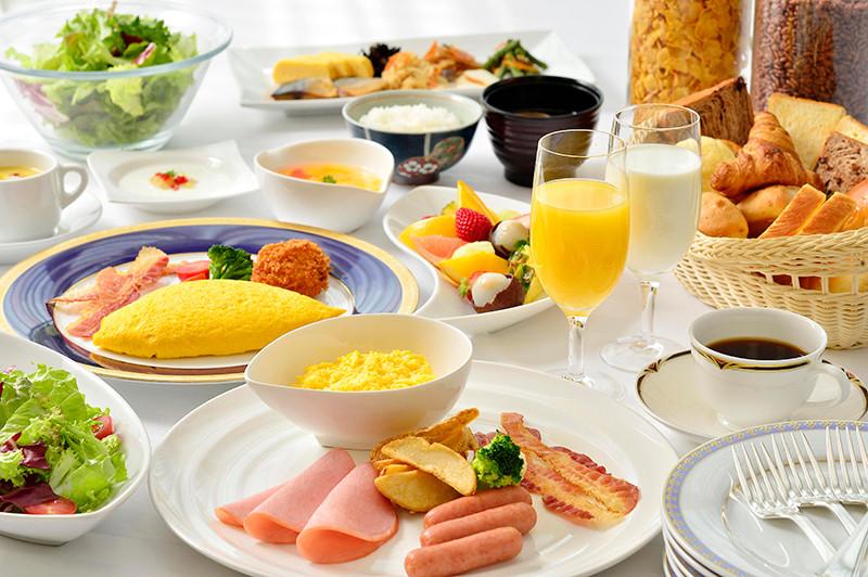 早餐自助吧