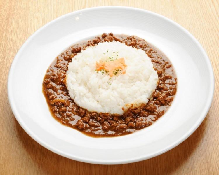 熟成和牛絞肉咖哩(1,350日圓)