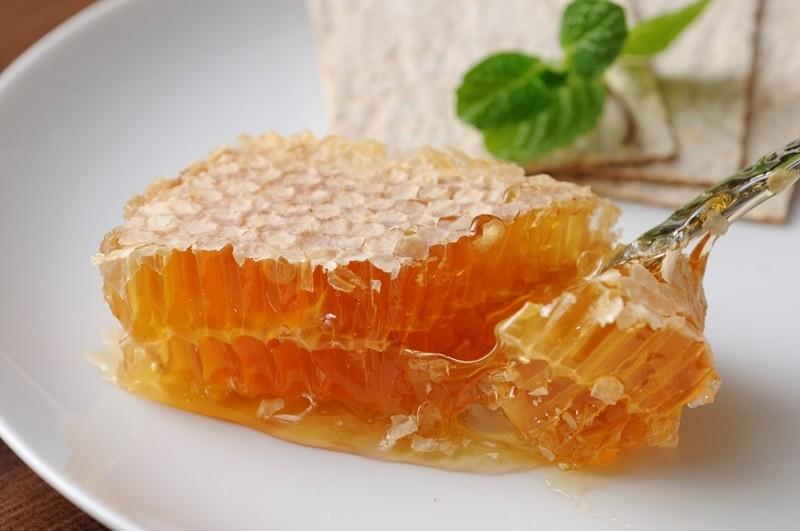 藏王奶油起司和蜂巢蜜