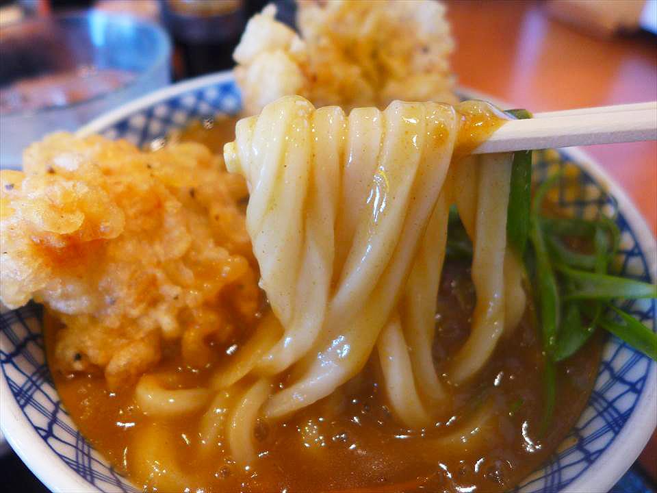 超人氣!辛辣×溫和高湯的咖哩烏龍麵 古川橋『釜信』