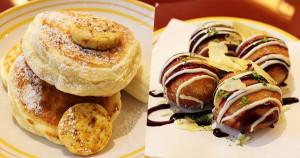bills大阪香蕉鬆餅與章魚燒甜甜圈