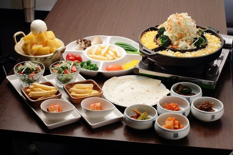 韓式起司炒雞套餐