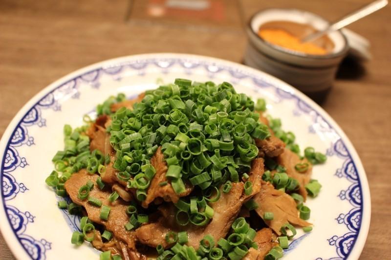 燉煮叉燒盤