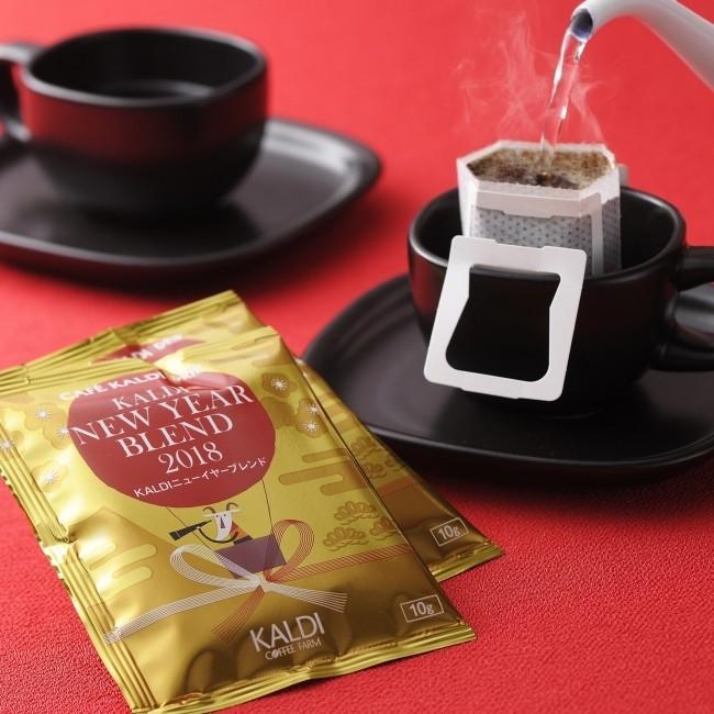 跨年旅遊購買伴手禮,推薦『KALDI COFFEE FARM』♪ 祝賀新年時,送上這可愛的新年小禮物!