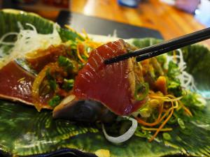 幸福料理Kitahachi鰹魚半敲燒定食
