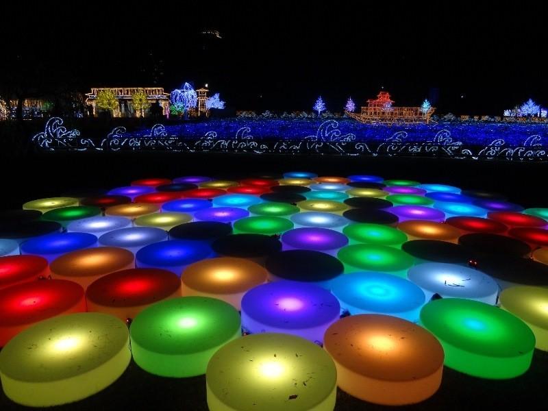 【已結束】大阪城西之丸庭園初次舉辦的和洋合壁燈光秀!豪華絢爛的「大阪城燈光秀」(大阪城イルミナージュ)