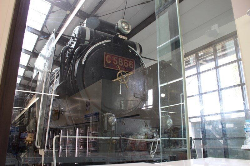 大阪城公園商城JO-TERRACE OSAKA-蒸氣火車