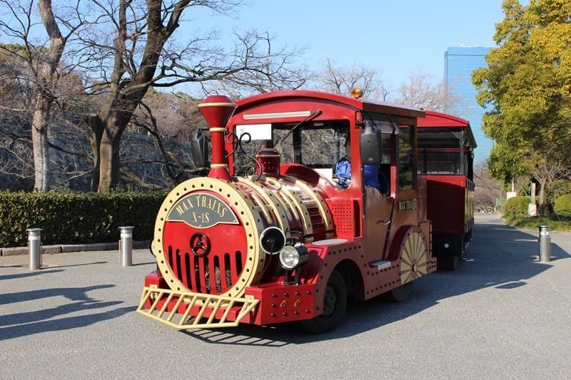 大阪城公園路面小火車