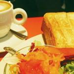 京都車站illy咖啡早餐