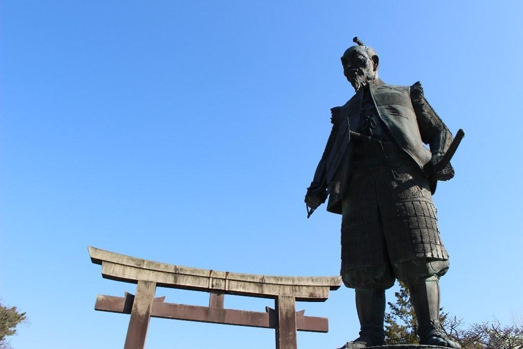 豐臣秀吉銅像