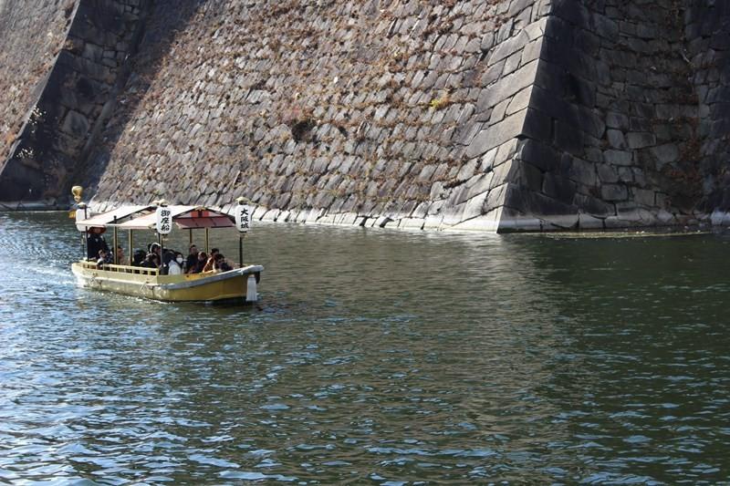 大阪城遊船