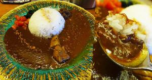 Curry-Panic午餐限定販賣咖哩飯