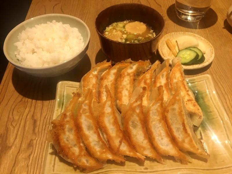 京都餃子處 高辻 亮昌-煎餃定食