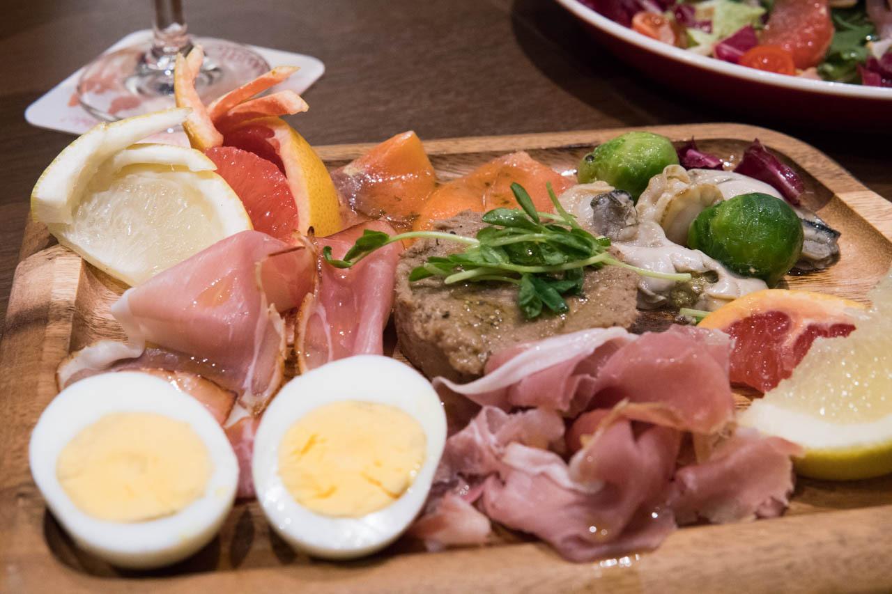 大阪比利時啤酒餐廳FLANDERS TALE-前菜拼盤