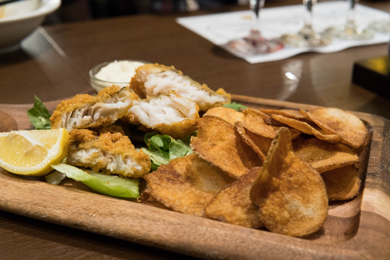 大阪比利時啤酒餐廳FLANDERS TALE-炸魚薯片