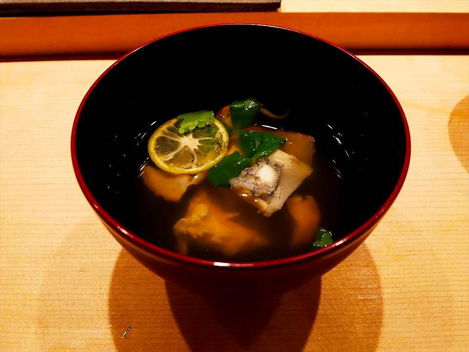 神戶中華街握壽司鮨 Shunpei鮨しゅんぺい-河豚湯