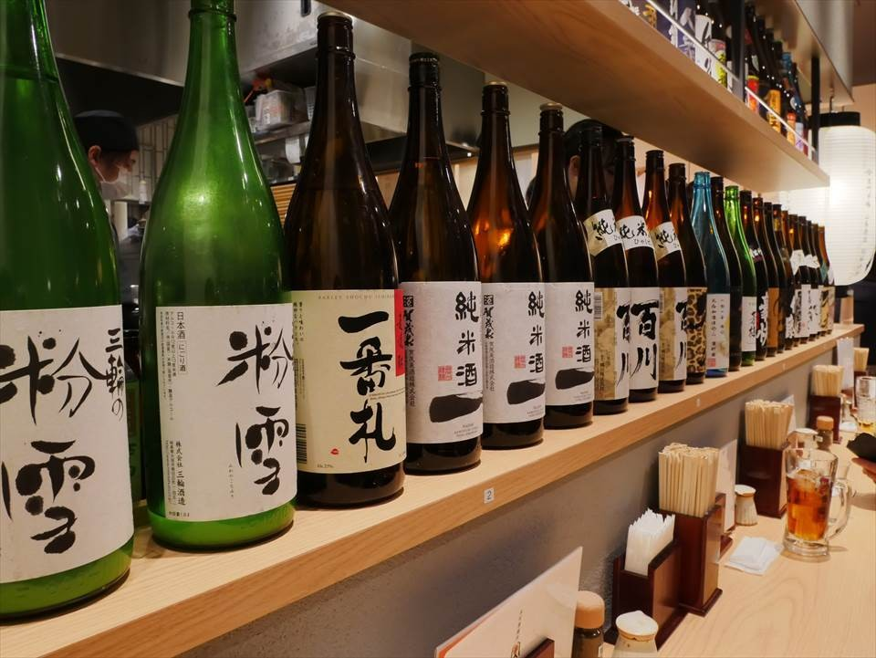 大阪居酒屋日本酒