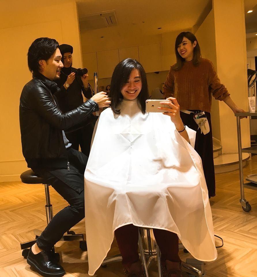 住大阪的台灣女孩在日本美髮的初體驗!心齋橋『La Sente』