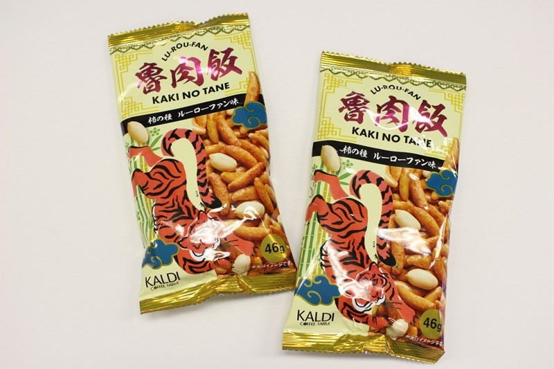 KALDI魯肉飯口味柿種