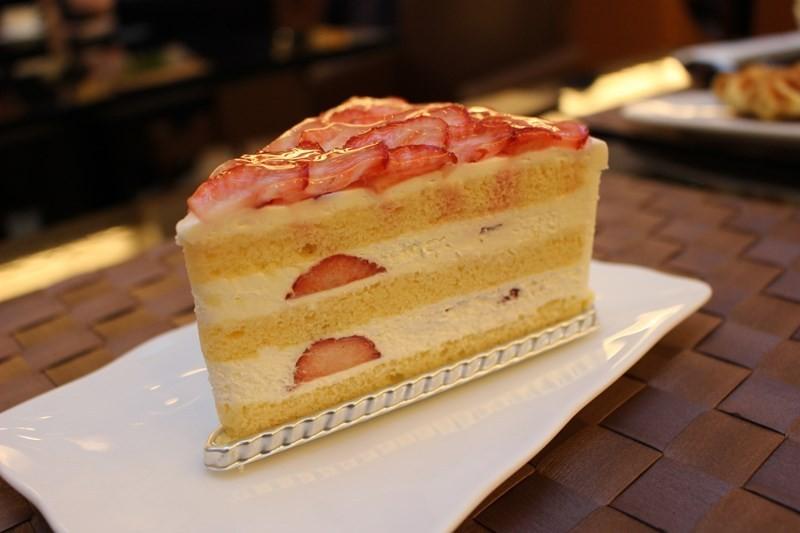 大阪格蘭比亞大飯店草莓蛋糕