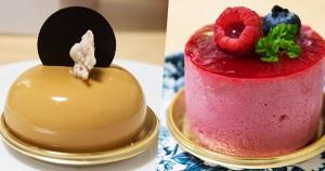 patisserie23楓糖巧克與覆盆子蛋糕