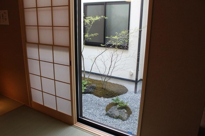 京都町家全棟出租旅館4S STAY 京都九條-中庭