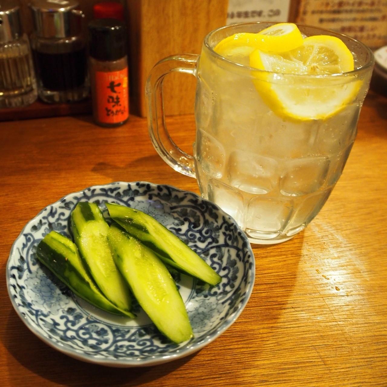 大杯檸檬沙瓦