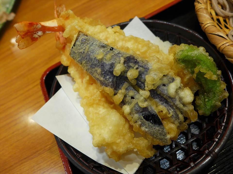 天婦羅炸蝦