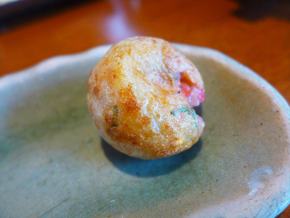大阪現烤章魚燒好吃