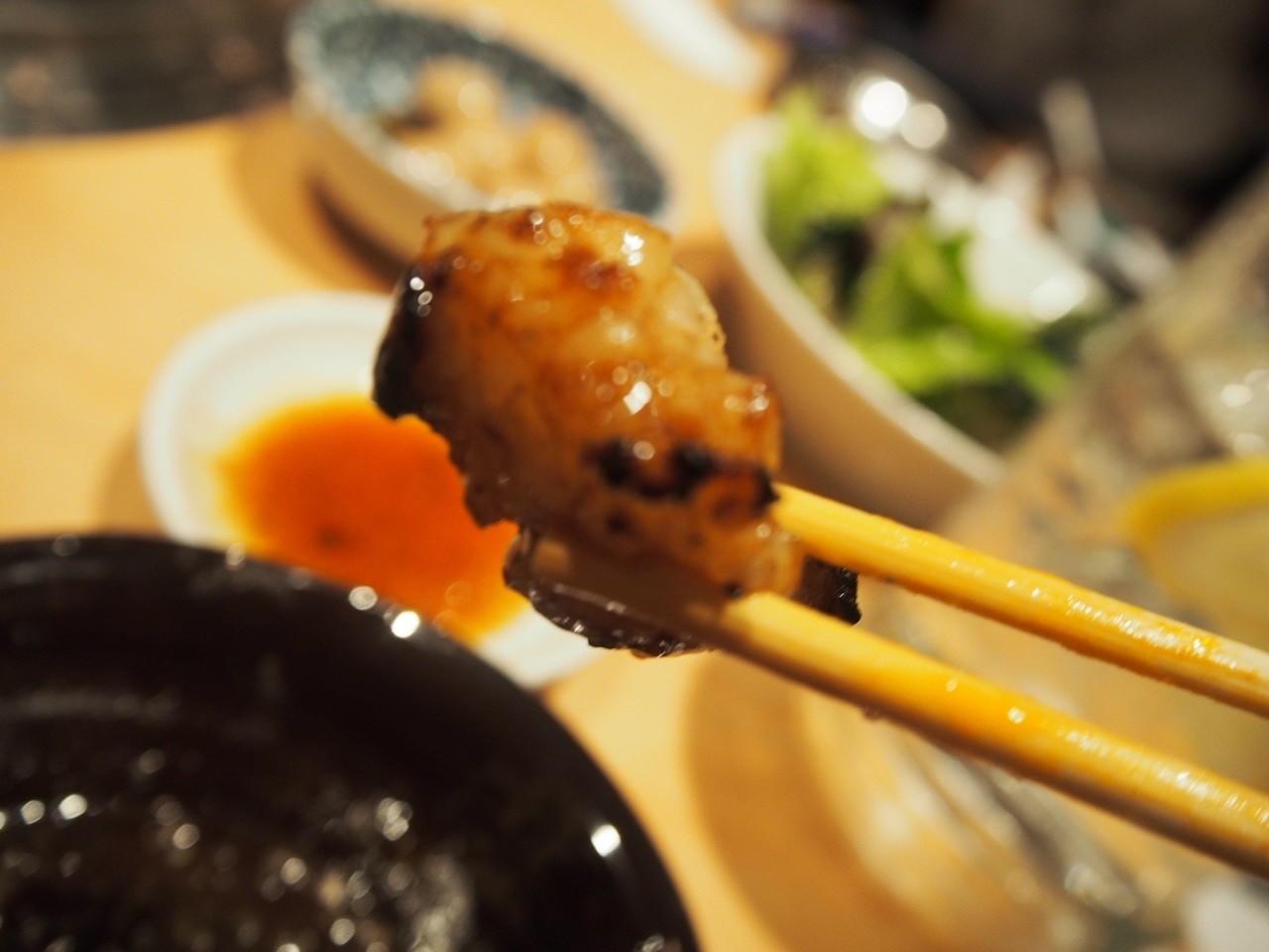東梅田大眾燒烤店內臟
