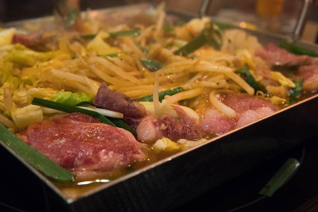 日本牛肉平盆鍋