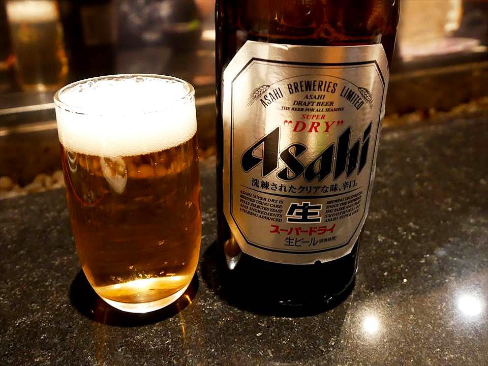 朝日瓶裝啤酒