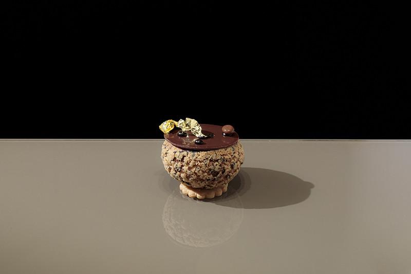 義式甜點BVLGARI IL CAFE-咖啡泡芙塔