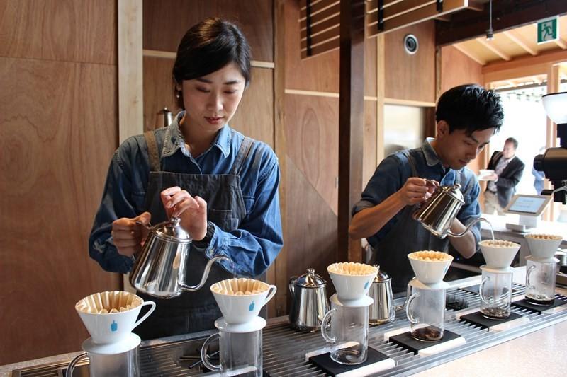 期待已久的關西展店!在咖啡店的激戰區・京都『藍瓶咖啡』開店了