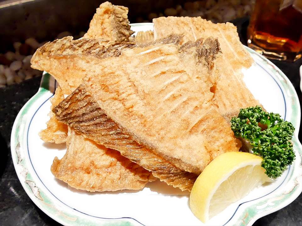 日式好吃烤魚骨