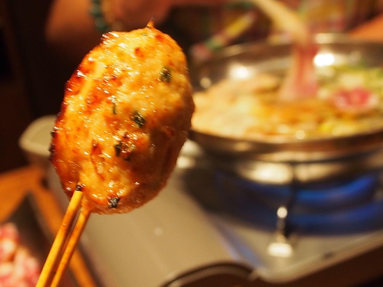 天王寺碳烤雞肉丸