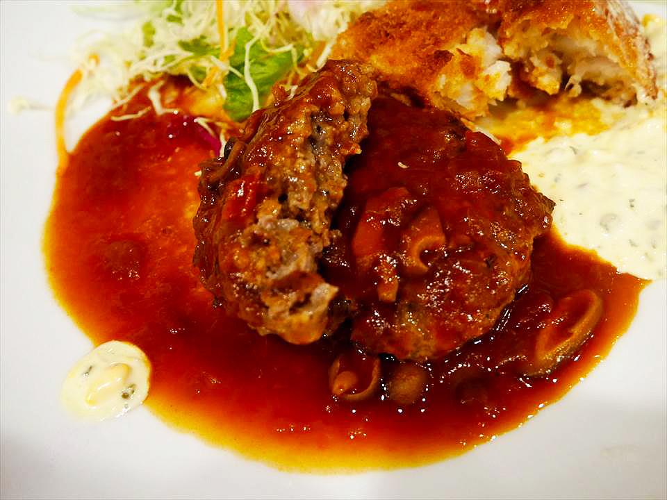 洋食 FUKUMOTO漢堡排套餐