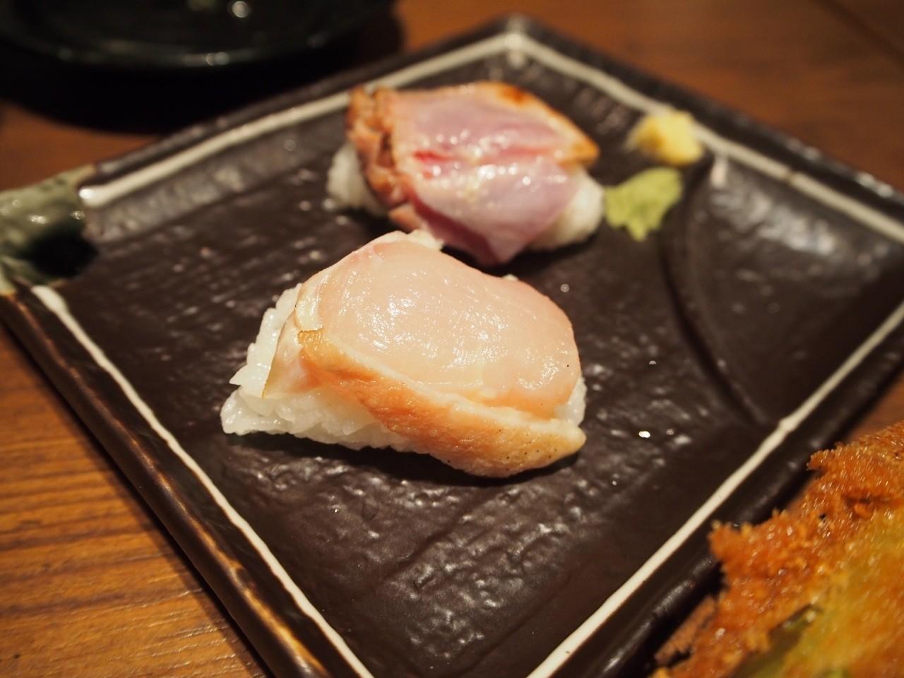 雞肉握壽司