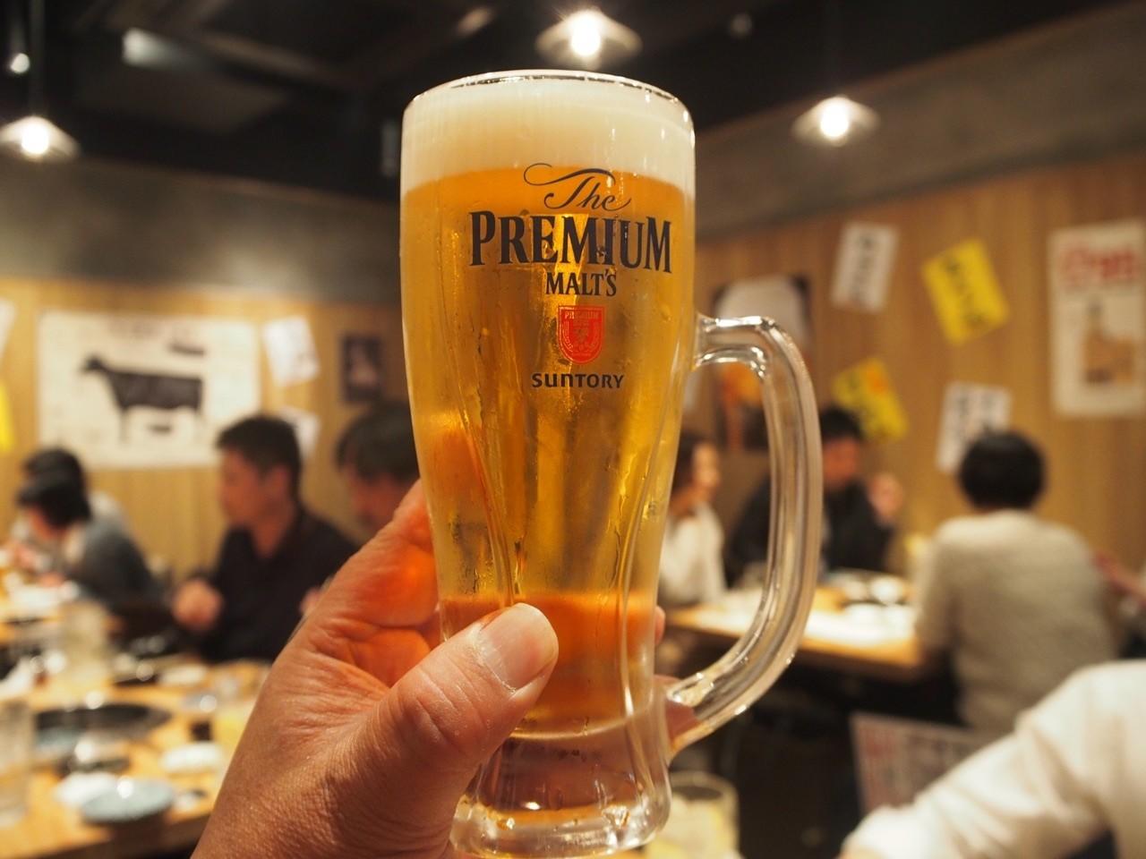 PREMIUM MALT'S中杯生啤酒