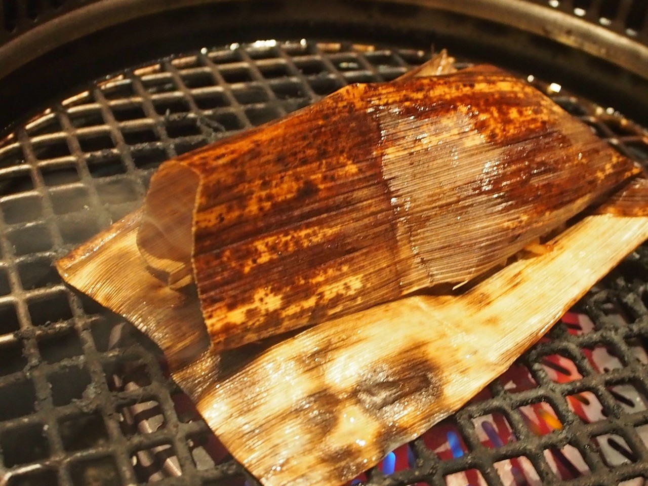 大阪燒烤店粽子