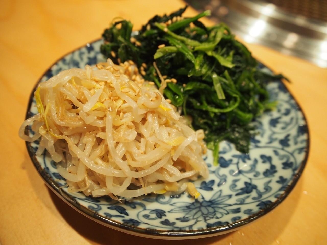 韓式拌菜拼盤