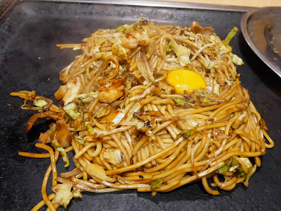大阪燒 串炸店Darumayだるまや-綜合炒麵