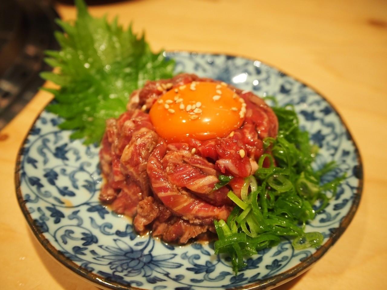 生拌牛腹身肉