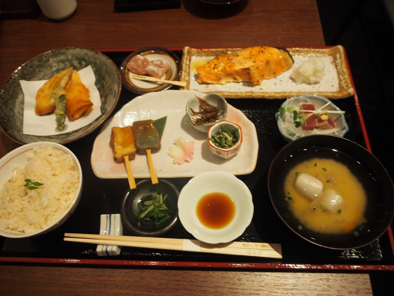 日式懷石定食