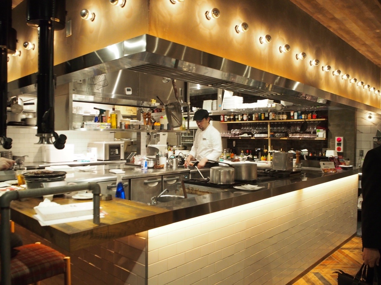 開放式廚房設計